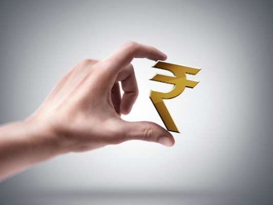 Fall in rupee value