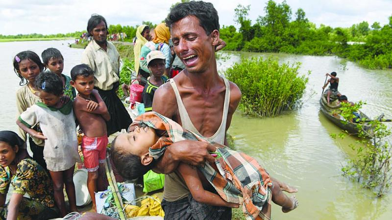Rohingya Refugee Crisis - Concerns of India