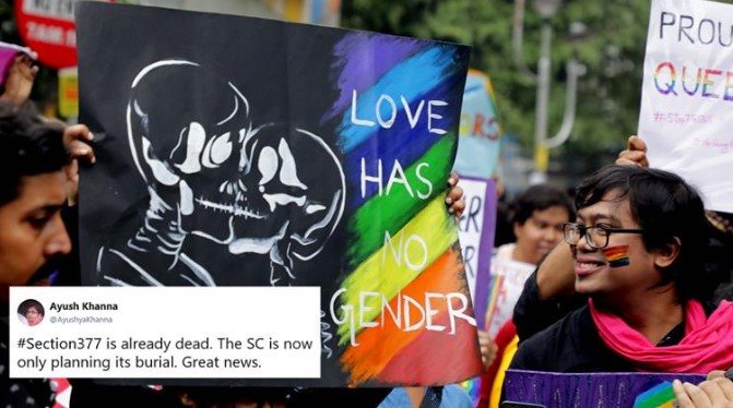 SC Verdict on Section 377 - The restoration of right to free expression and dignity
