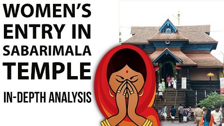 [Updated] Sabarimala Temple Issue – Customs Vs Constitution