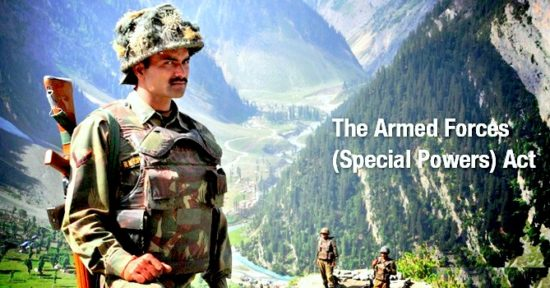 Armed Forces (Special Powers) Act (AFSPA) - The Debate on Security Vs Human Rights
