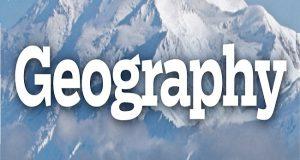Geography mindmap