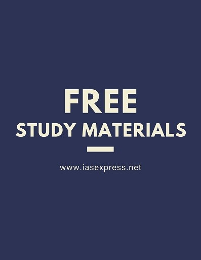 Free UPSC Study Materials pdf download