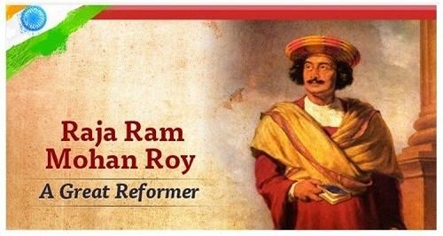 Raja Ram Mohan Roy – Important Personalities of Modern India