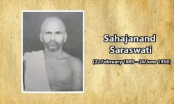 Sahajanand Saraswati - Important Personalities of Modern India