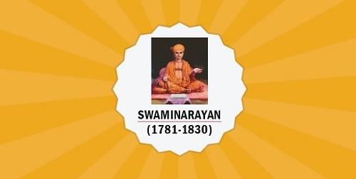 Swaminarayan/Sahajanand Swami – Important Personalities of Modern IndiaPREMIUM