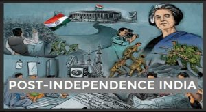 post independence india notes for upsc (mindmaps)