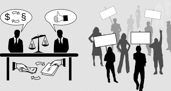 pro-crony vs pro-business upsc essay notes mindmap