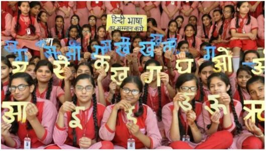Featured Image of Official language Issue in India