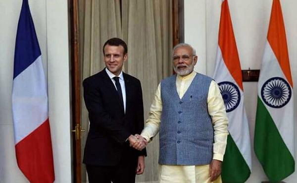 India-France relations upsc essay notes mindmap